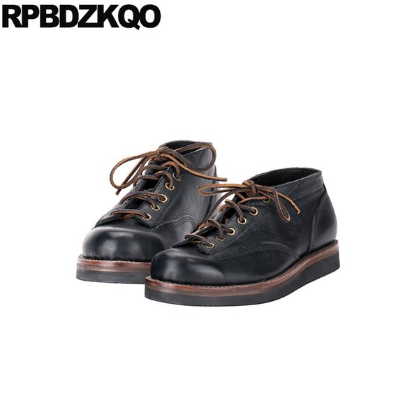 46 brand wedding large size dress Italy lace up men oxfords shoes handmade genuine leather casual spring black italian 11 party