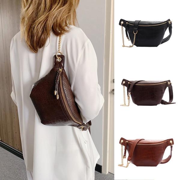 sacs crossbody pour les femmes sac à main de luxe en cuir Messenger épaule poitrine Sac à main pour les femmes 2019 sac une femme principale # T2G