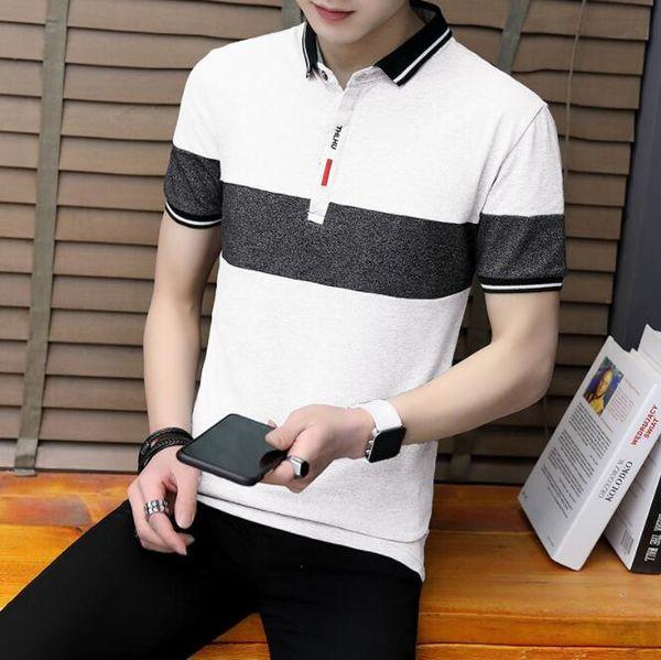Polos de lujo para hombre polos marca de moda polos para hombres camisetas diseñador de verano para hombre tops clothing 3 colores m-4xl al por mayor