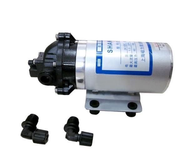 DP-60 High Pressure Water Pump DC 12V/24V 40W Motor Diaphragm Water Self Priming Pump For RV MARINE BOAT CARAVAN Professional