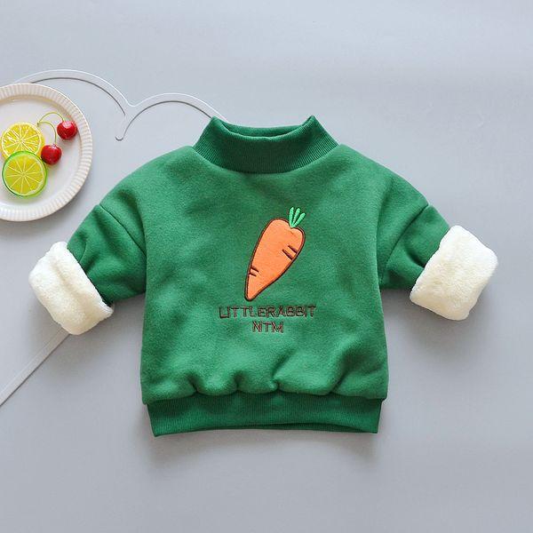 Fleece-Samt der guten qulaity Winterwarmer Baumwollkinder-Karikaturoberbekleidungjungen-Strickjacke beiläufige Kinderstrickjacke bebe Sportmädchenkleidung
