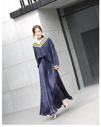 dark blue(long 100cm