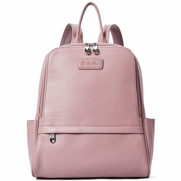 0aa14c04c23 BOSTANTEN Backpack Women Female Genuine Leather Backpacks Purse Fashion  Blue Black Pink School Bags For Women Backpacks #203802 Backpacks For Men  ...