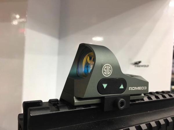 ROMEO3 3MOA Reflex Sight Mini Red Dot Sight 1x25 reticolo Red Dot Scope con attacco QD per base guida 20mm