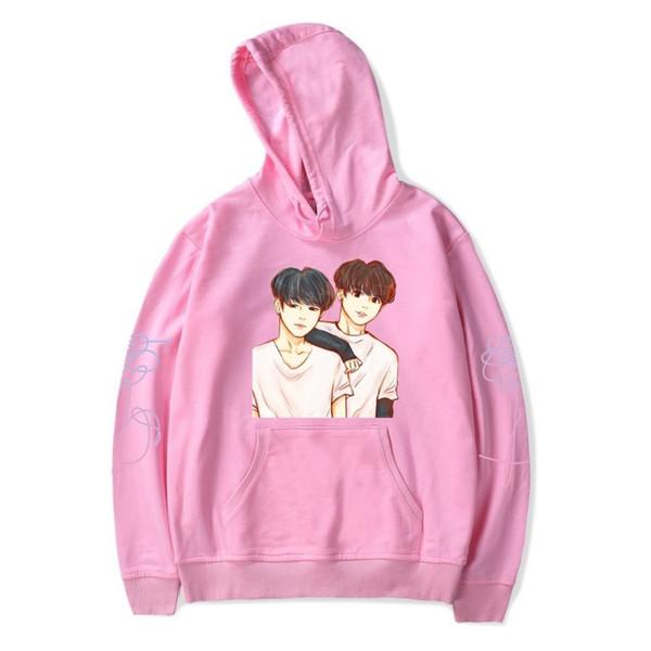 BTS K-pop LOVE YOURSELF Bangtan Boys Stay Picture JIMIN V Hoodies Sweatshirts Hoodies Casual Hip-hop Personality Idol Clothes