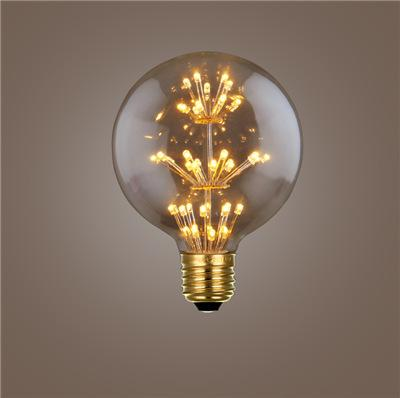 E27 screw retro nostalgia energy-saving filament warm light bar restaurant personalized decorative LED bulbs