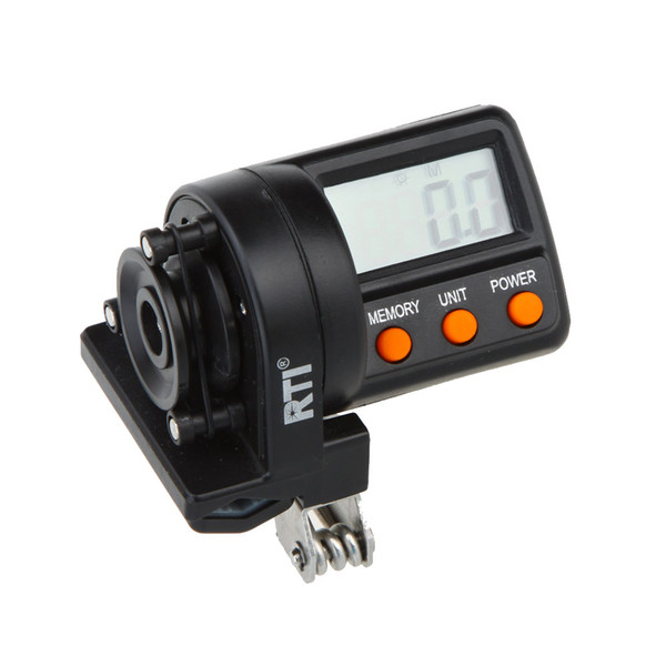 0-999.9M Counter For Night Electronic Digital Display Line Depth Finder Counter feeder Fishing Gear