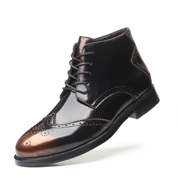 Hommes Chaussures Angleterre Tendance Chaussures Loisirs Casual cuir respirant Confortable Homme Footear Mocassins plat Hombre hommes