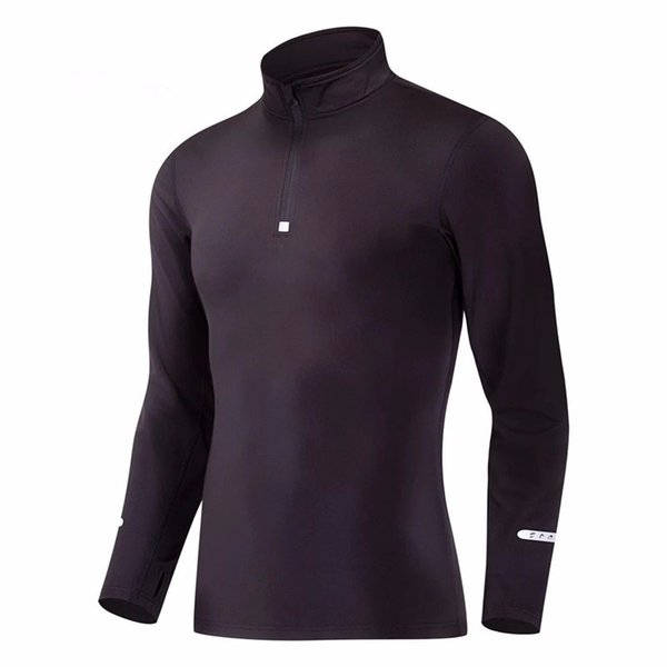 Automne running Hommes Vestes velours Fitness Gym sport Football basketbal manches longues en plein air jogging formation Vestes Vêtements