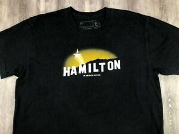 Творческие товары HAMILTON Musical Александр Гамильтон Голливуд Знак LA футболка XL