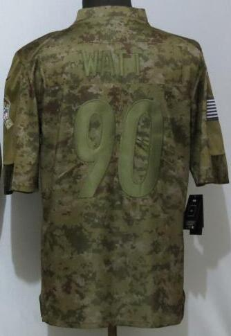 Pittsburgh 90 jersey 7 19 30 84 Men all team Shirt Embroidery and 100% stitched 2019 Camo Salute to Service Limited Football Jersey