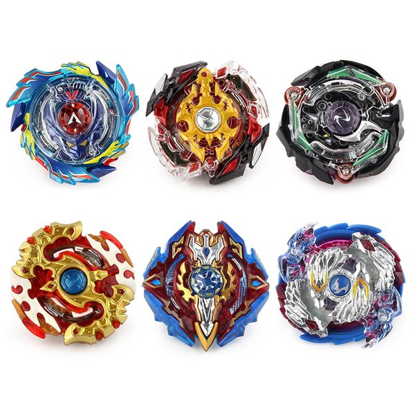 top popular 98 Styles Single Beyblade Booster Alter Spinning Gyro Without Launcher fidget spinner Starter String Booster Battling Beyblades Bayblade Toy 2019