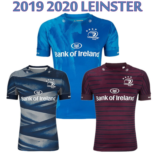 top popular 2019 2020 Leinster rugby jersey 19 20 home away EUROPEAN ALTERNATE best quality LEINSTER irish rugby club shirt size S-3XL 2019