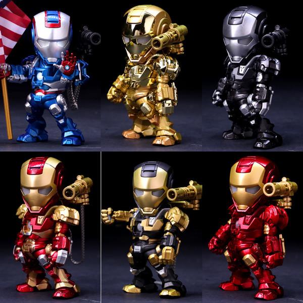 Iron Man Alloy Metal Doll 15CM Modello di alta qualità Giocattoli Collezione Decorazione Iron Man I migliori regali per i bambini Giocattoli