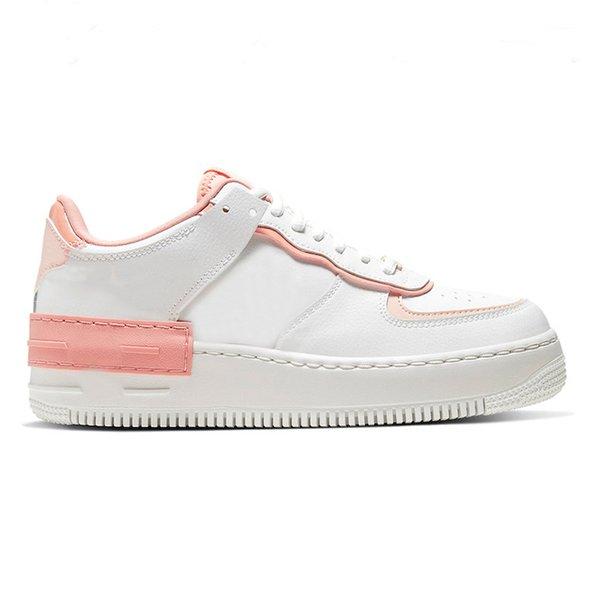 Schatten weiß rosa
