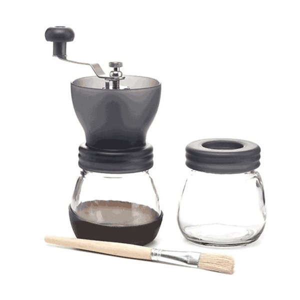 Portable Manual Stainless Steel Coffee Grinder Washable Home Kitchen Mini Hand Made Coffee Bean Mill Coffee Grinding Machine