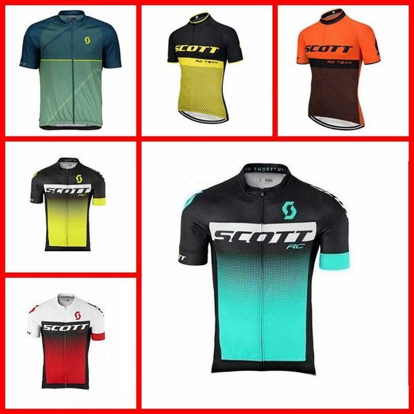 SCOTT team Cycling Short Sleeves jersey Fashion Men factory direct sale outdoor Multi Types 2019 new Cheap Comfortable N30807