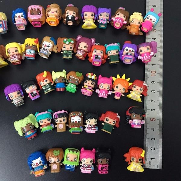100 Pcs/lot Mmmq's My Mini Mixie Q's Anime Dolls Mixieq's Assembling Girl Model Capsule Toys Action Figures Mixieqs Gift Y19051804