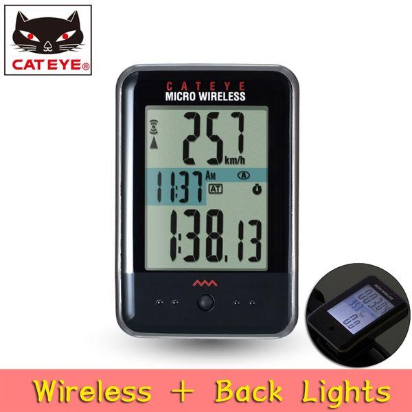 CATEYE CC-MC200W Cycling MICRO Digital computer Wireless Bike stopwatch Outdoor Sports Bicycle Backlight speedometer Japan #298857