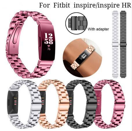 High Quality Stainless Steel Wris Strap For Fitbit Inspire Band Metal Wristband Bracelet For Fitbit Inspire HR Women Watch Men