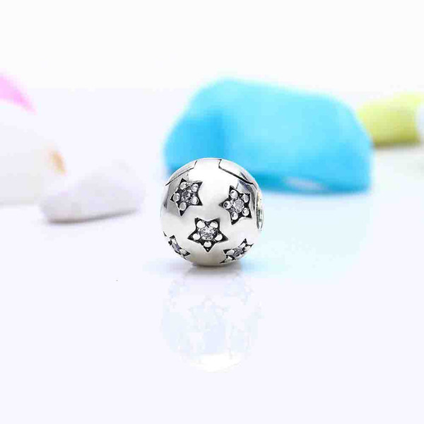 Sterling Silver Ring Ball Bead Charme Angle solide 925 argent Nouveau style Taille 6 2 mm
