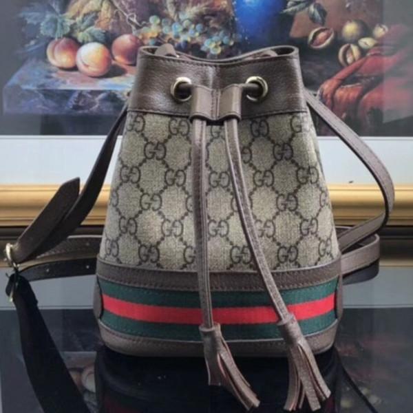 Женская дизайнерская сумка-ведро изысканного компактного сшивания по цвету плеча по диагонали Женская сумка размера19 * 15 * 9