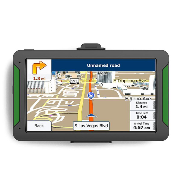 "7"" HD GPS Navigator System With Lifetime 3D Maps Spoken Voice Navigation WIFI / FM Handwriting Driver Car Tracking Locator"