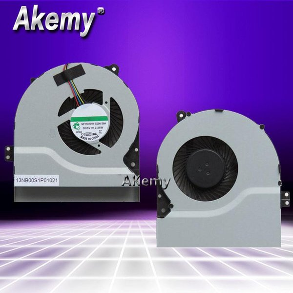 Akemy Nouveau refroidisseur de processeur original pour Asus Y481C Y481L X452E X450EP X450EA Y481E X450W X450W X450WE X502E