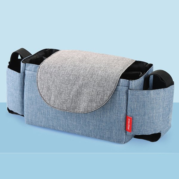 Multifunction Collection Stuff Storage Bag Diaper Organizer Durable Baby Care Hanging Stroller Use Portable Shopping Flip Type