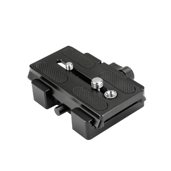 CAMVATE Manfrotto Type Quick Release Assembly With Sliding Plate Camera Mount C2046
