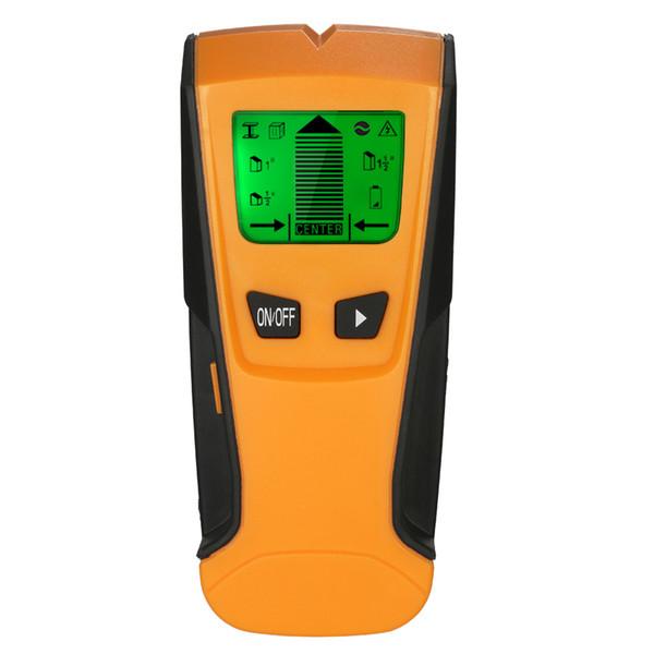3 In1 Rilevatore di metalli digitali Rilevatore di prigionieri di metallo in legno Rilevatore di conduttori di corrente alternata Rilevatore di pareti Rilevatore di profondità del rilevatore di scatole elettriche