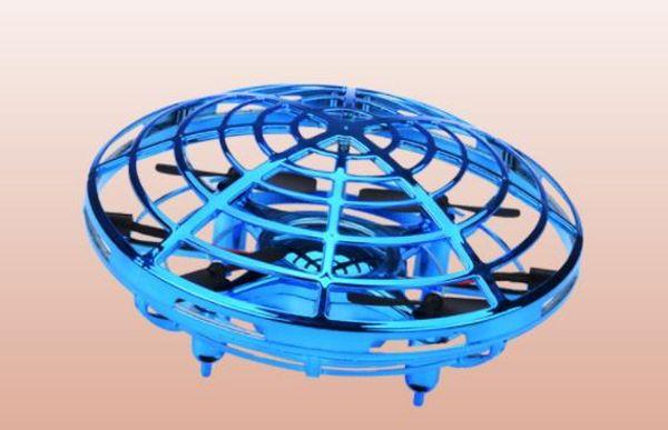 VENTA SUPERIOR Juegos de Novedad Cuerpo Humano Sensor Infrarrojo Aviones Suspensión UFO Control de Gestos Inteligente Inducción Drone Creative Toy XXP147