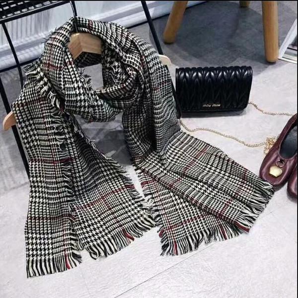 Vente en gros - charme arabe shemagh tactique Palestine lumière Polyester foulard châle pour femme mode plaid imprimé femme foulards wraps