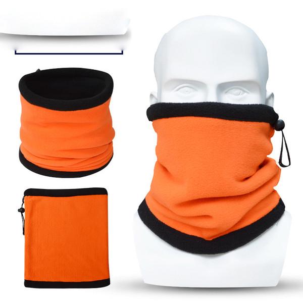 Al aire libre doble babero cuello tapa suave material de lana Bicicleta esquí multifunción deportes montar mascarilla completa gratis por DHL