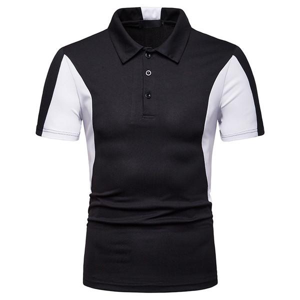 Shirts Hommes Couleur Joint assorti de grande taille Respirant rapide Multicolors sec d'été Nouveau style décontracté Top Polos