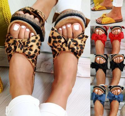 Terlik Kadın Terlik Kadın Sandalet Yay üzerinde Kayma Düz Kenevir Keten Yaz Kaydırıcılar Espadrille Ayakkabı Chanclas De Mujer