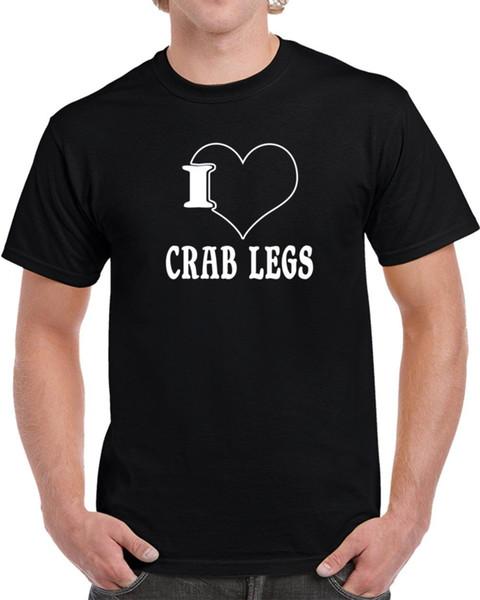 Ich liebe Krabbenbein-T-Shirt Lustiges freies Verschiffen