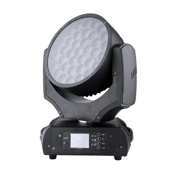 La fabbrica professionale firect vendita veste 37 * 10w satge dj illuminazione copia originale robin 600 led testa mobile wash light