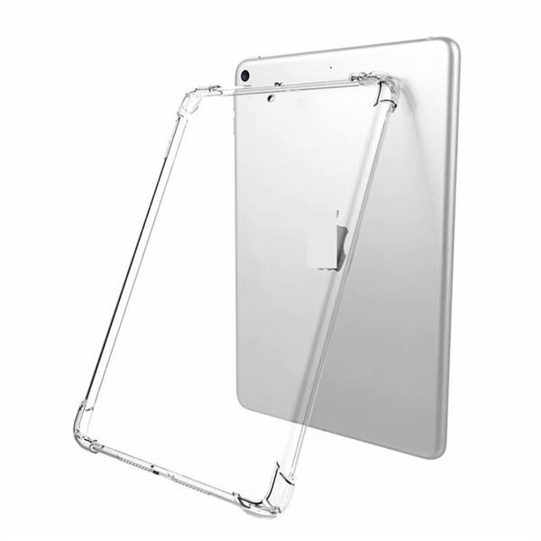 For ipad case TPU transparent case Anti-fall 4-angle air cushion cover for ipad pro 9.7 inch