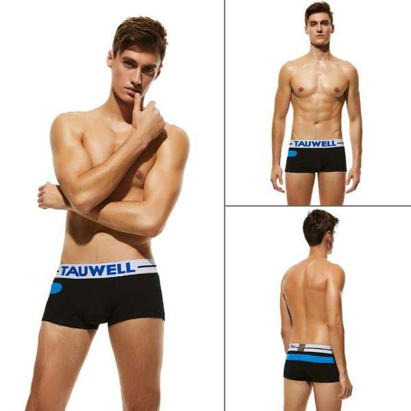 Mode Marque boxeurs mens concepteur Bermudas mens mâles Culottes solides Underpants Vente chaude