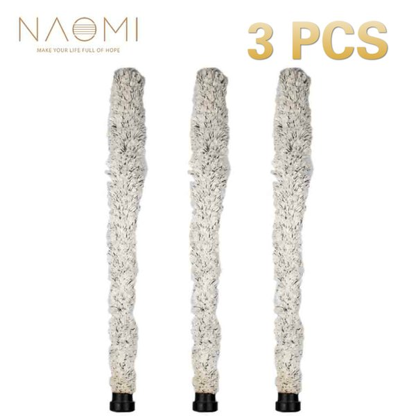 NAOMI Alto Sax Brush 3 PCS Cleaning Brush Cleaner Pad Saver For Alto Saxophone Woodwind Instrument Parts & Accessories New