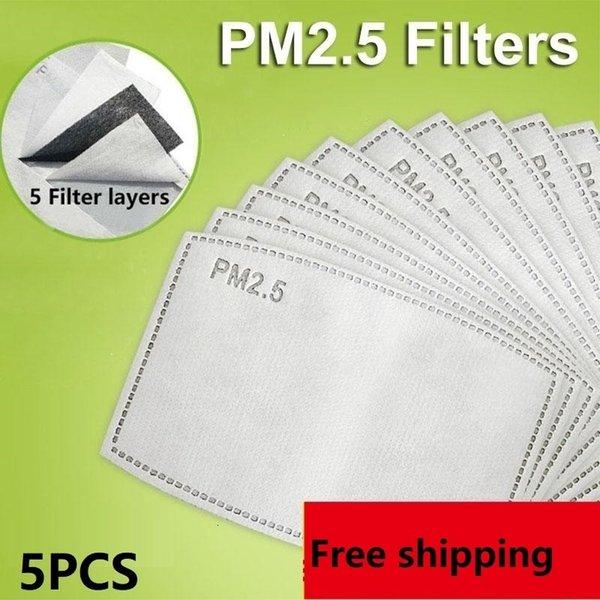 5pcs filtros 2.5pm