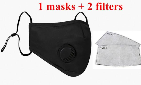 1 Maske + 2pcs maskieren-Filter = 1 Los