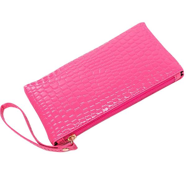 xiniu New Arrivals Women Crocodile Shaped Leather Clutchs Handbag Bag Coin Purse carteira feminina#Y35