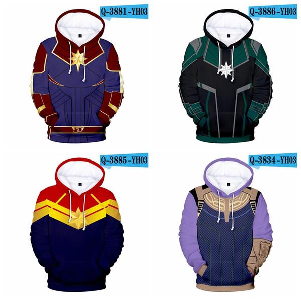 Endgame Quantum Realm Hoodie Hooded Sweatshirts Pullver Hoodie Suit boys&grils Zipper Hoodies 3D Clothes Print