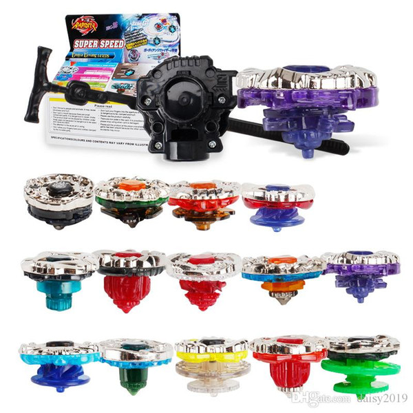 top popular 4th Season Beyblade Burst Gyroscope Toupie Bayblades Arena Metal Fury Fusion Avec Lanceur Spinning Top gyro Toys for Children 3020BBG 2019