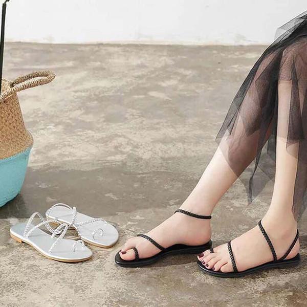 Chinelos Sandálias Sapatos de Grife sandálias planas Flip Flops Sandálias Sneakers Moda Enviar Caixa Bonita por Shoe07 v43