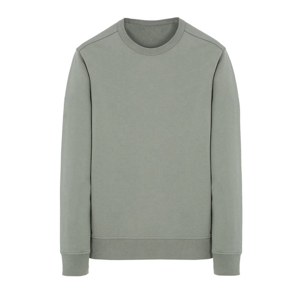 19SS 62751 CREWNECK SWEAT manches longues T-shirt simple solide Sweat mode Pull Sportwear Rue HFLSWY293