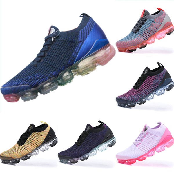 2019 FK 3.0 Breathable Fly Wire Climbing Shoes Originals 3.0 FK All AirCushion Cushioning Sports Shoes