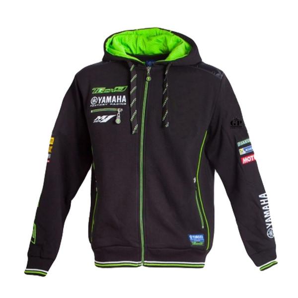 Бесплатная доставка 2019 MOTO GP Tech 3 Для Yamaha Monster Racing Team Zip Hoodie мужская повседневная одежда Racing Hoodies